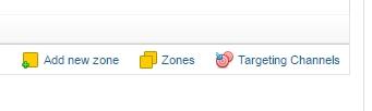 Add a new zone